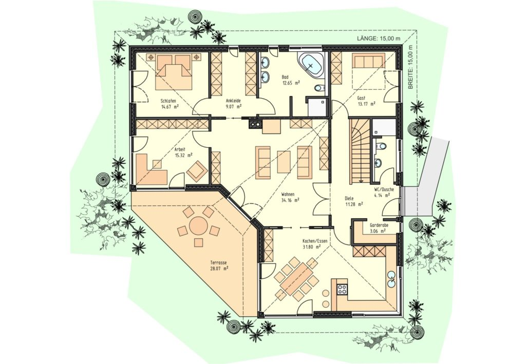 Musterhaus-81-Bungalow-barrierefrei-Prospekt